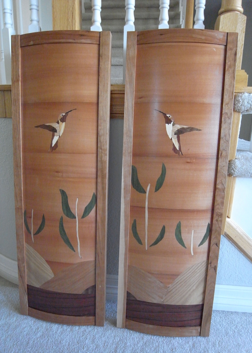 Hummingbird panels