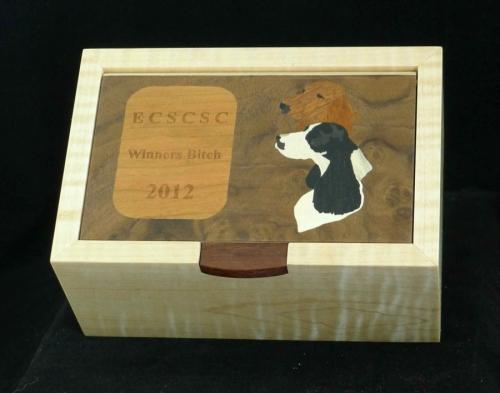 Dog Show award box
