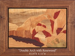Double Arch Rosewood
