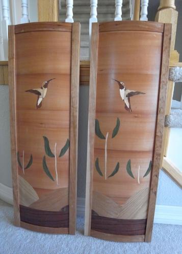 Hummingbird panels
